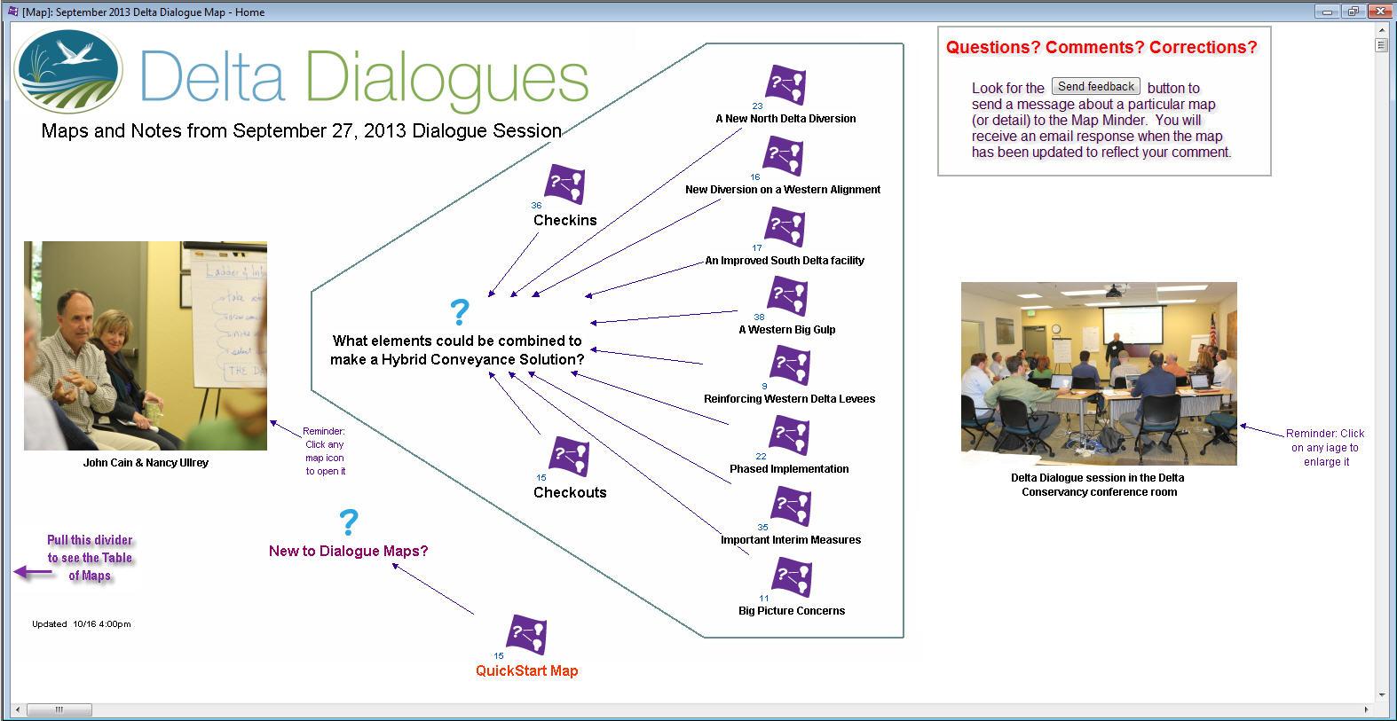 September 2013 Dialogue Maps